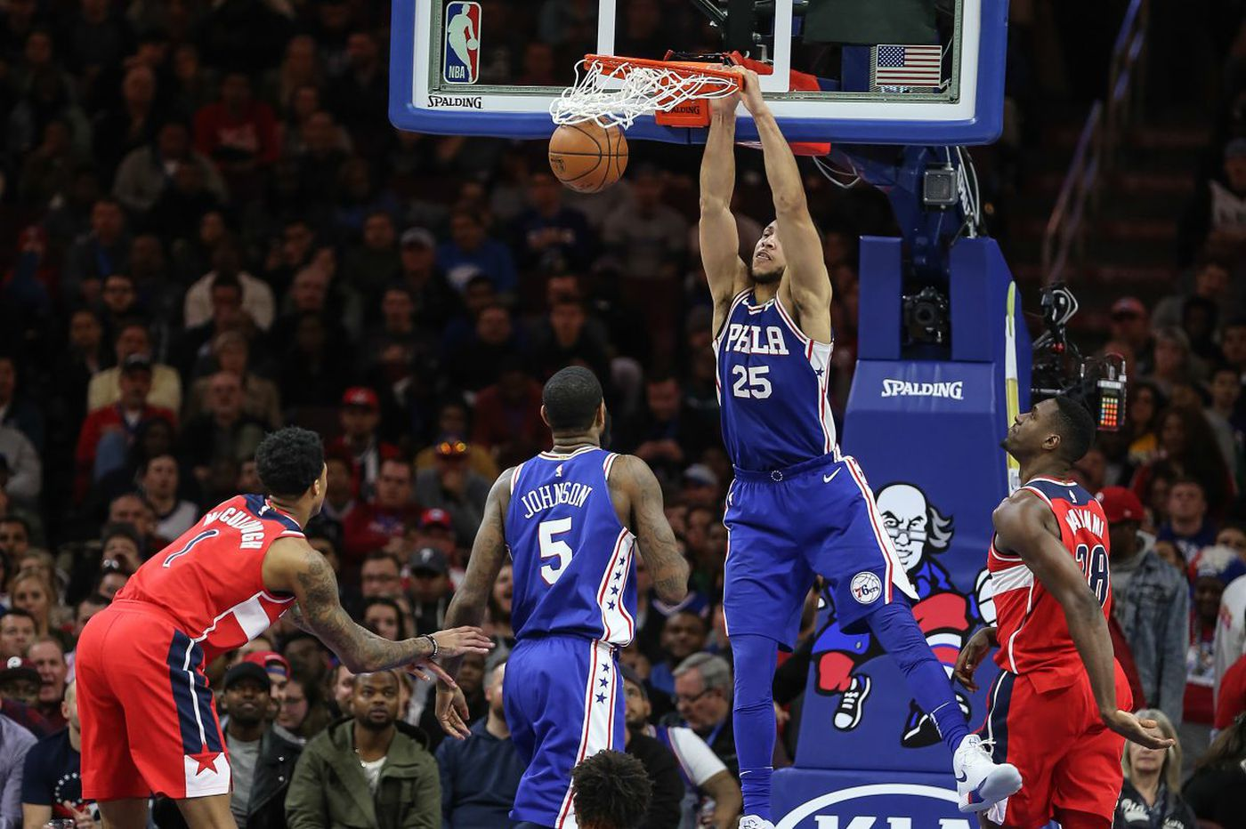 Sixers' Ben Simmons named Eastern Conference rookie of the month