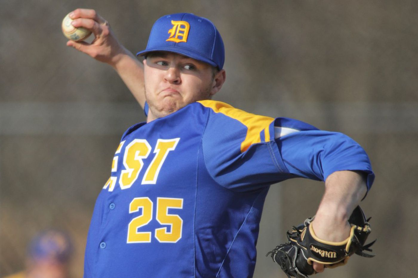 Downingtown West's Drew Britt is a pitching and hitting force