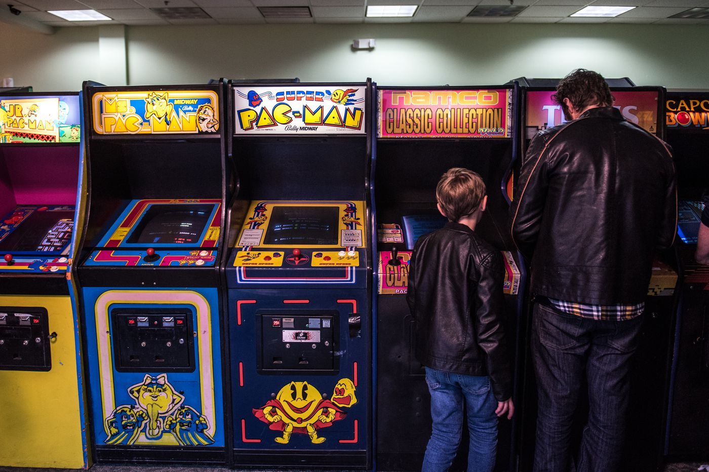 Where to play Donkey Kong, Pac-Man, Rampage, and other old-school games in arcades around Philadelphia