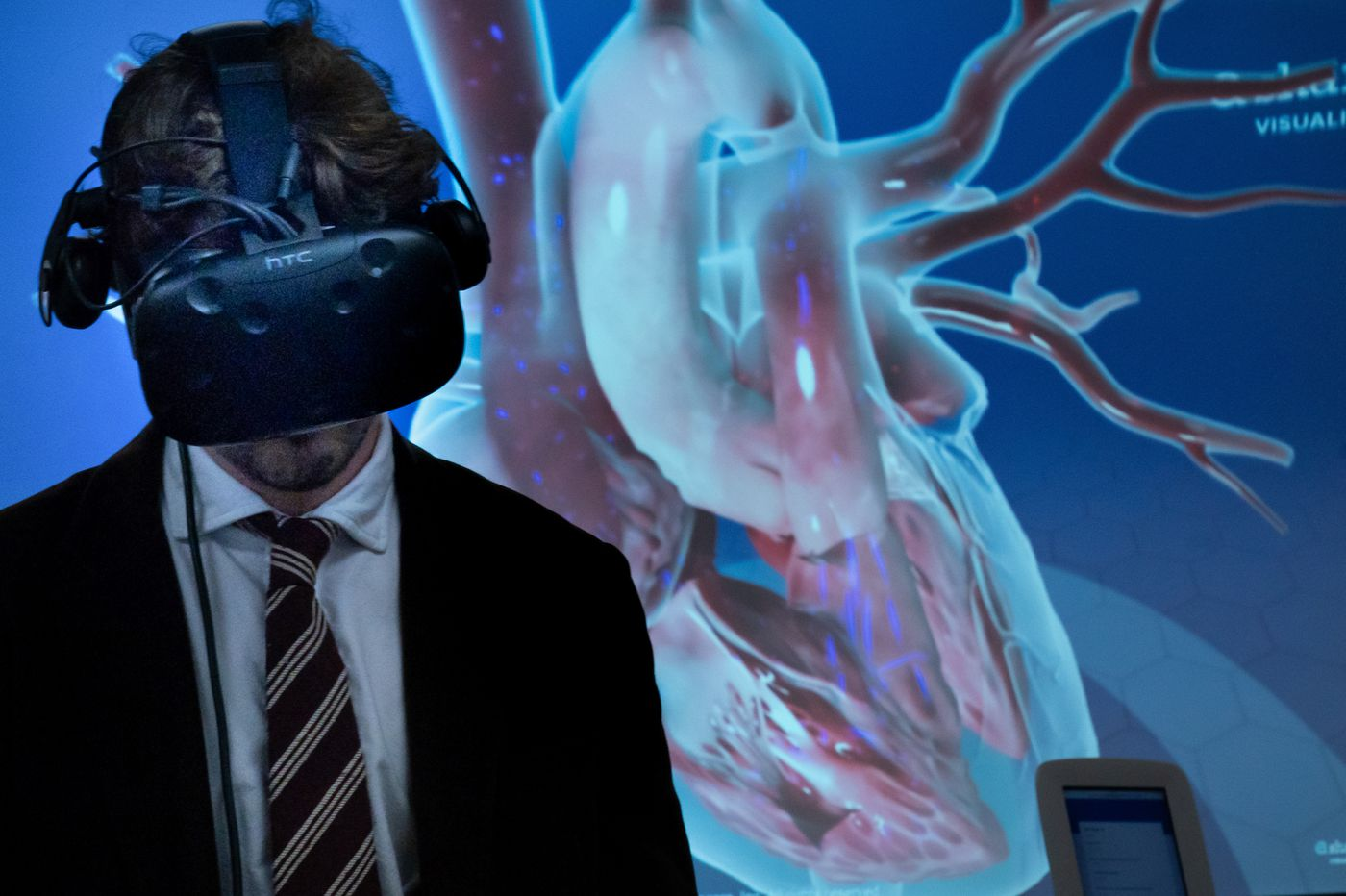 Virtual reality is more than a game at local hospitals