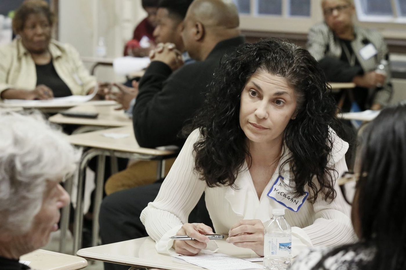 In first public duties, new Philly school board gets an earful from community