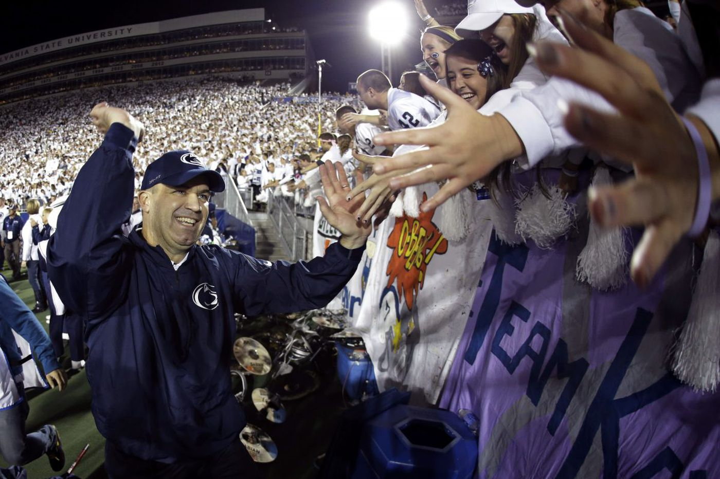 Bill O'Brien was back at Penn State's 'college football heaven'