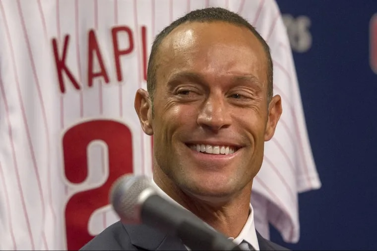 New Phillies manager Gabe Kapler has completed his coaching staff.