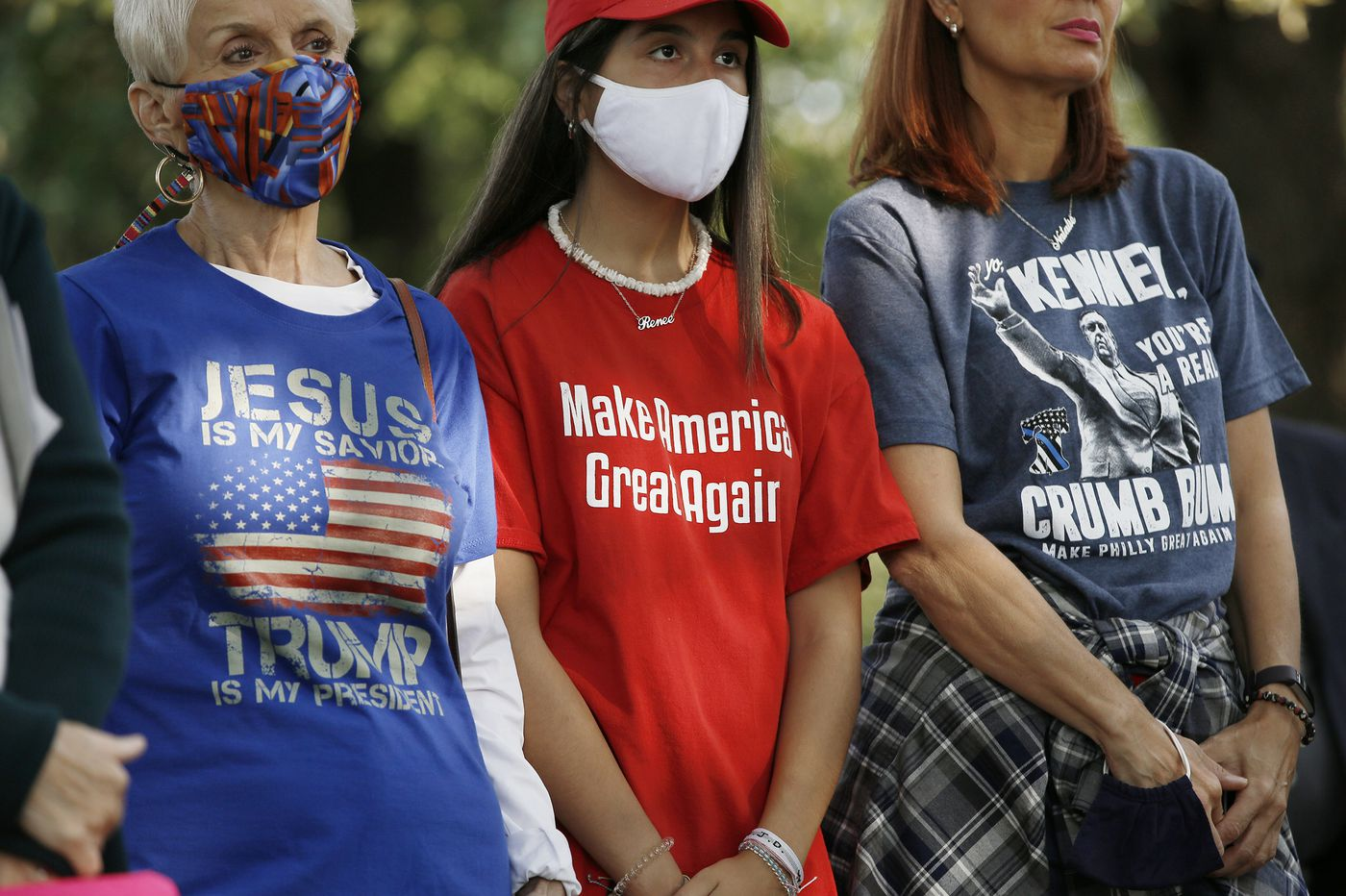 Catholics rally in Philly for hospitalized Trump: 'God wanted everyone to know Trump is a tough guy'