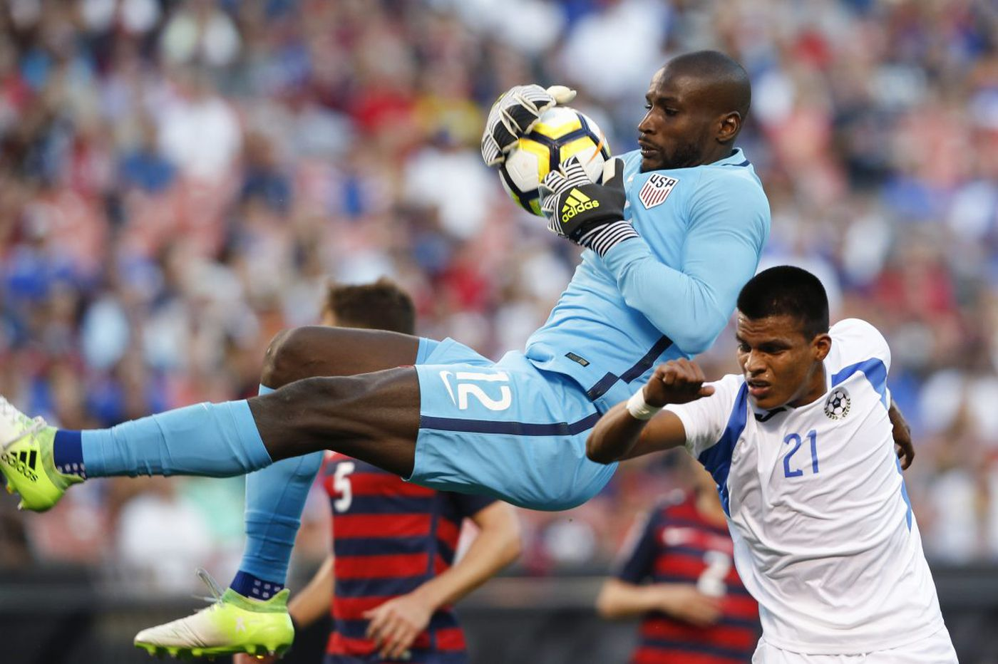 Bill Hamid could face old D.C. United teammate Bruno Miranda in U.S.-Bolivia game
