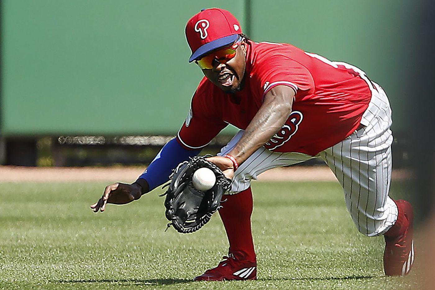 Spring training: Phillies trying prospect Roman Quinn at shortstop