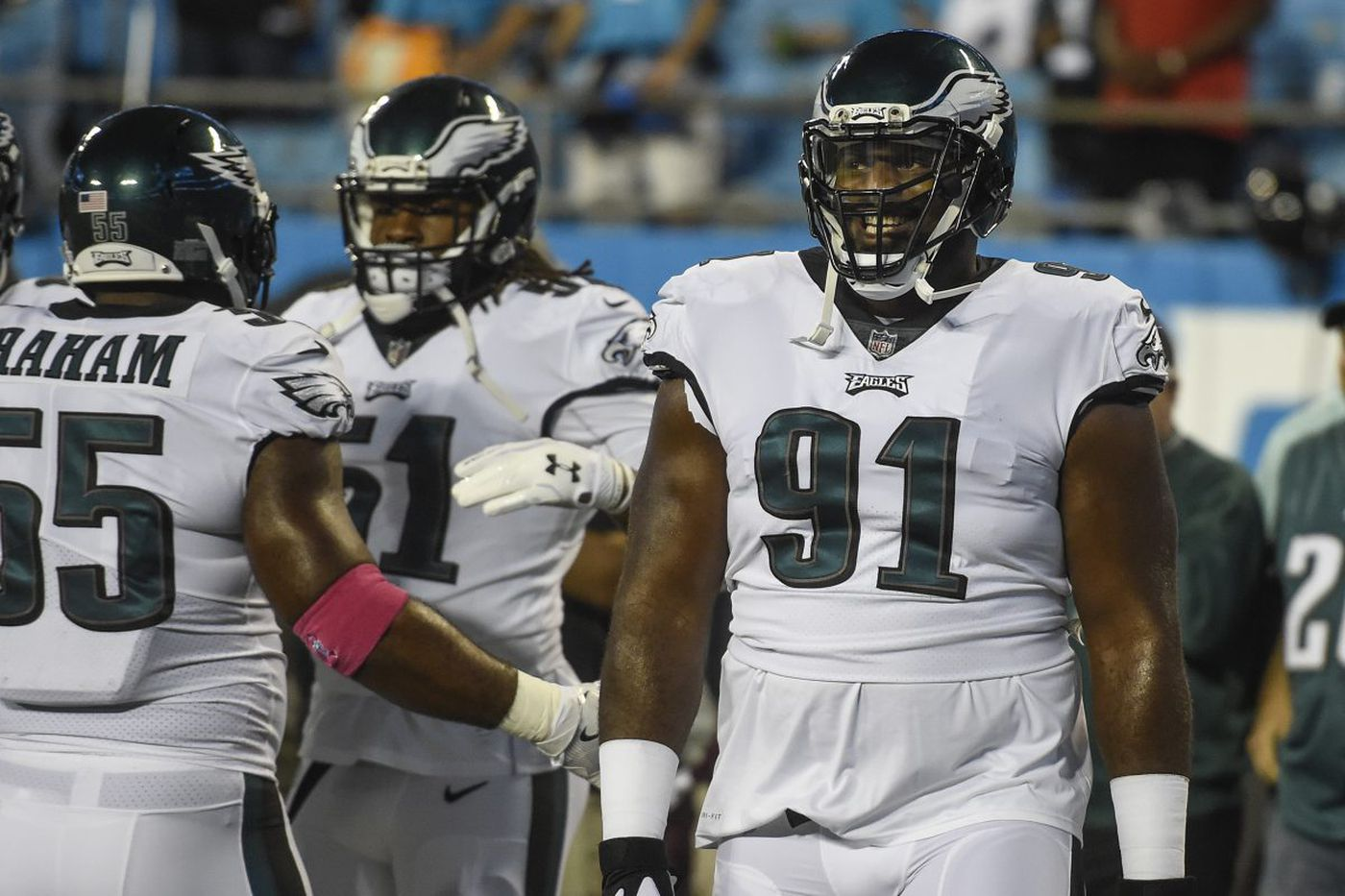 Eagles DT Fletcher Cox active vs. Panthers; RB Wendell Smallwood is out