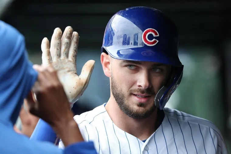 Chicago Cubs third baseman Kris Bryant is close friends with Phillies star Bryce Harper and could be traded before the offseason is over.