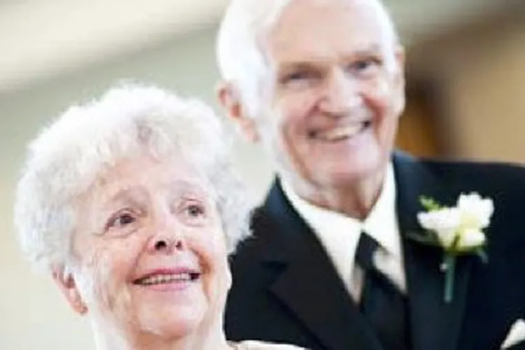 Thomas and Delores Parker died last year in a fire in the Barclay Friends facility in West Chester.  This photo was included in a lawsuit filed by their estate.