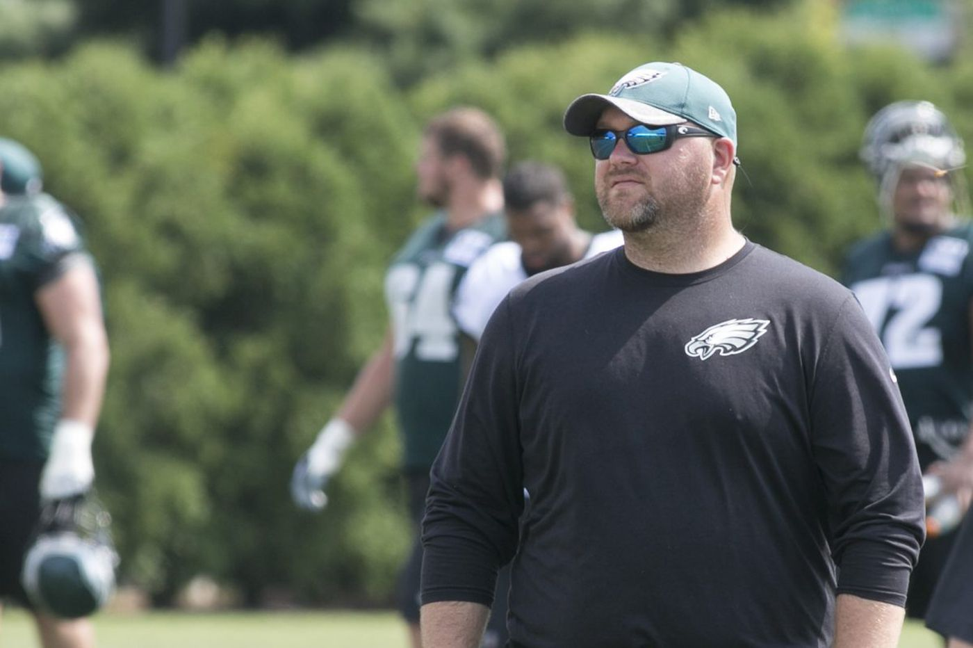 Joe Douglas says he's staying with the Eagles