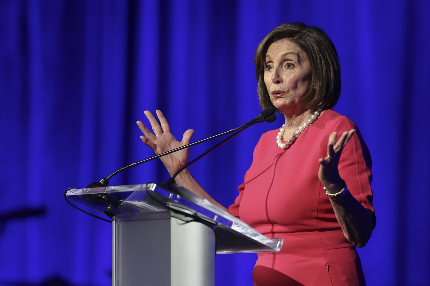 Speaker Nancy Pelosi, in Philadelphia, says Congress had 'no choice' but to pursue impeachment inquiry