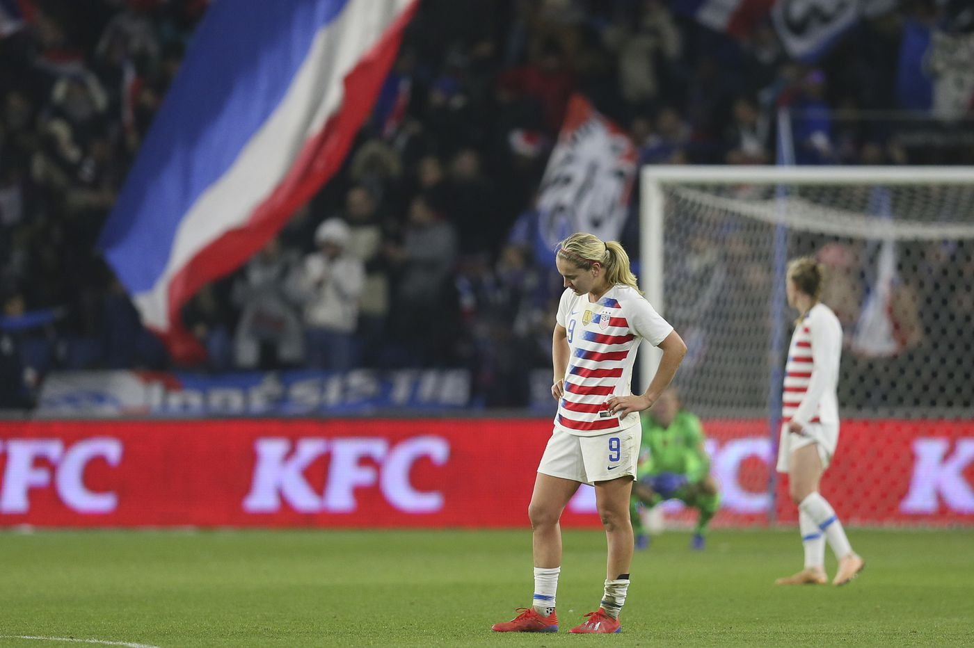 Jill Ellis on U.S. women's soccer team's loss to France: 'We will improve'