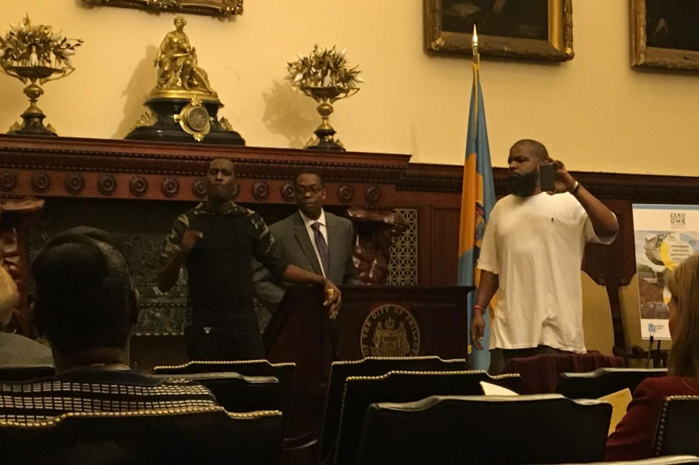 Black Lives Matter protesters shut down City Hall news conference