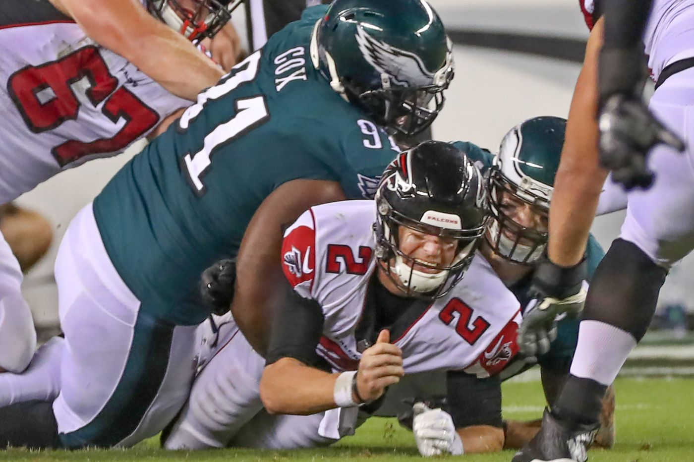 Restructuring Fletcher Cox's contract could help Eagles add weapon — perhaps LeSean McCoy? — or keep veterans