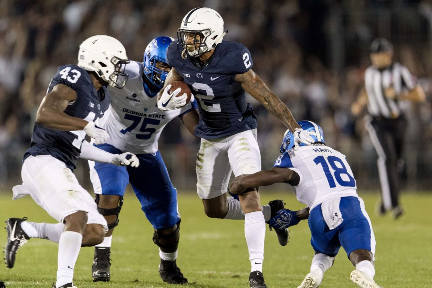 Free safety Marcus Allen's enthusiasm, performance spark Penn State