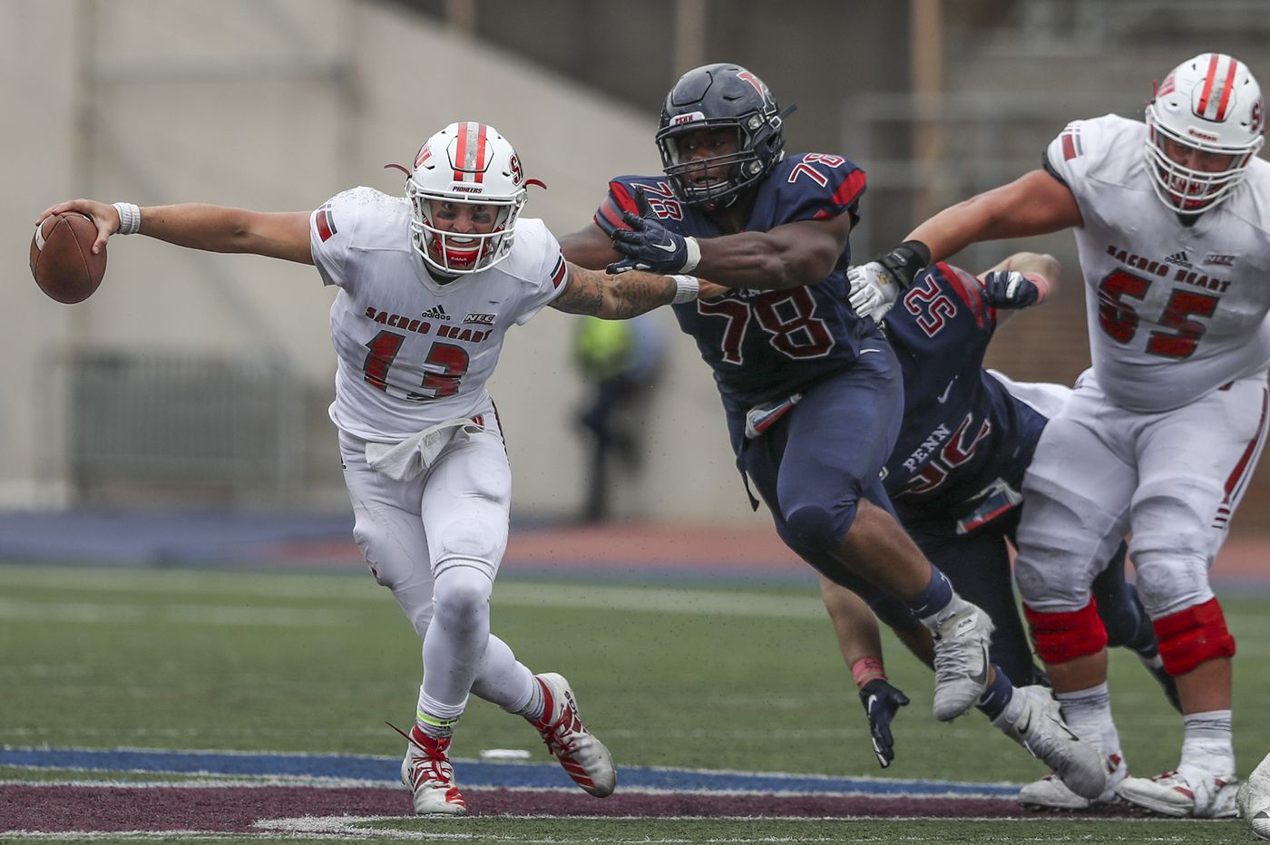 Penn football's Prince Emili emerging as vocal leader