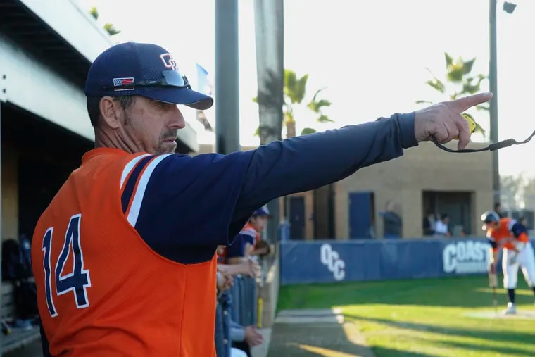 Orange Coast College's head baseball coach John Altobelli. The Altobelli family has confirmed that John Altobelli, his wife Keri and daughter Alyssa were among those killed in the helicopter crash with NBA icon Kobe Bryant and his daughter Gianna in Calabasas, Calif., Sunday, Jan. 26, 2020.