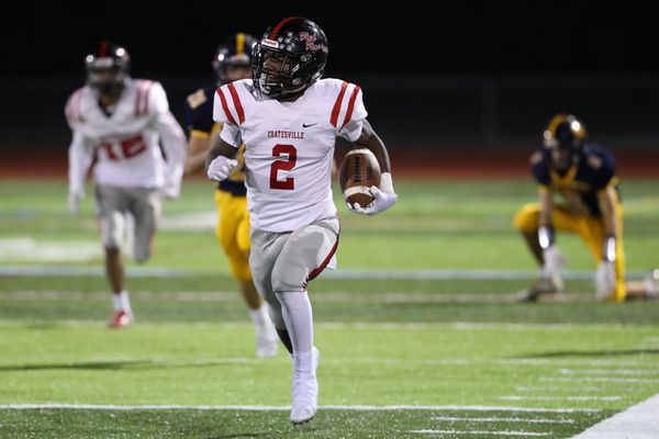Coatesville's Dapree Bryant is on the brink of another receiving record