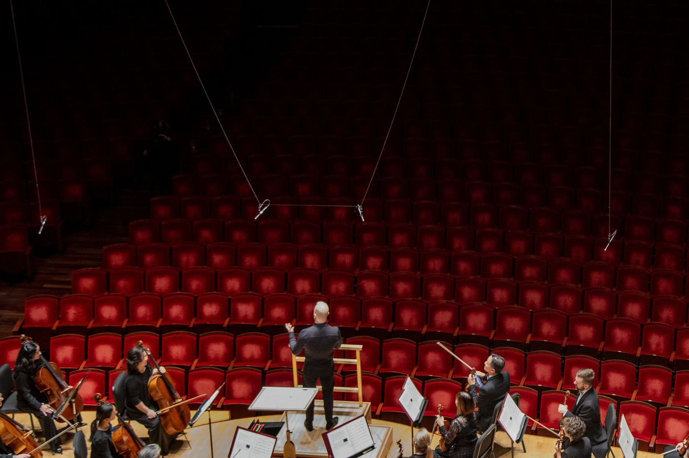 Coronavirus forced the Philadelphia Orchestra to play to an empty house. And I was there to witness it