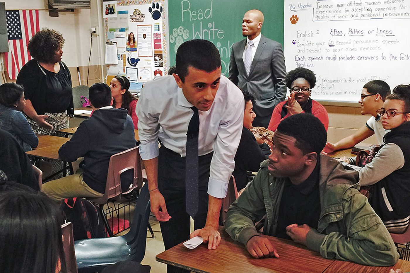 Camden superintendent asks students how to boost graduation rate