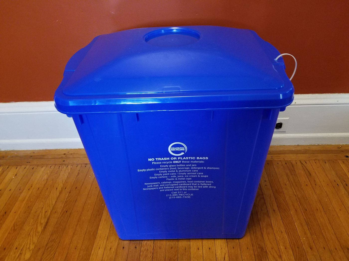 Recycling In Philadelphia What To Know About Bins With Lids