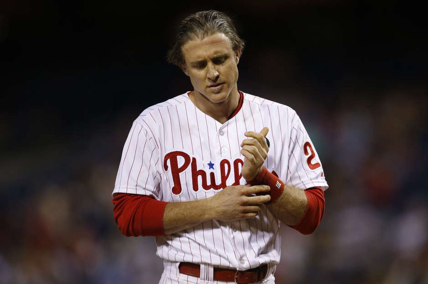With Rollins departed, seems Utley is staying