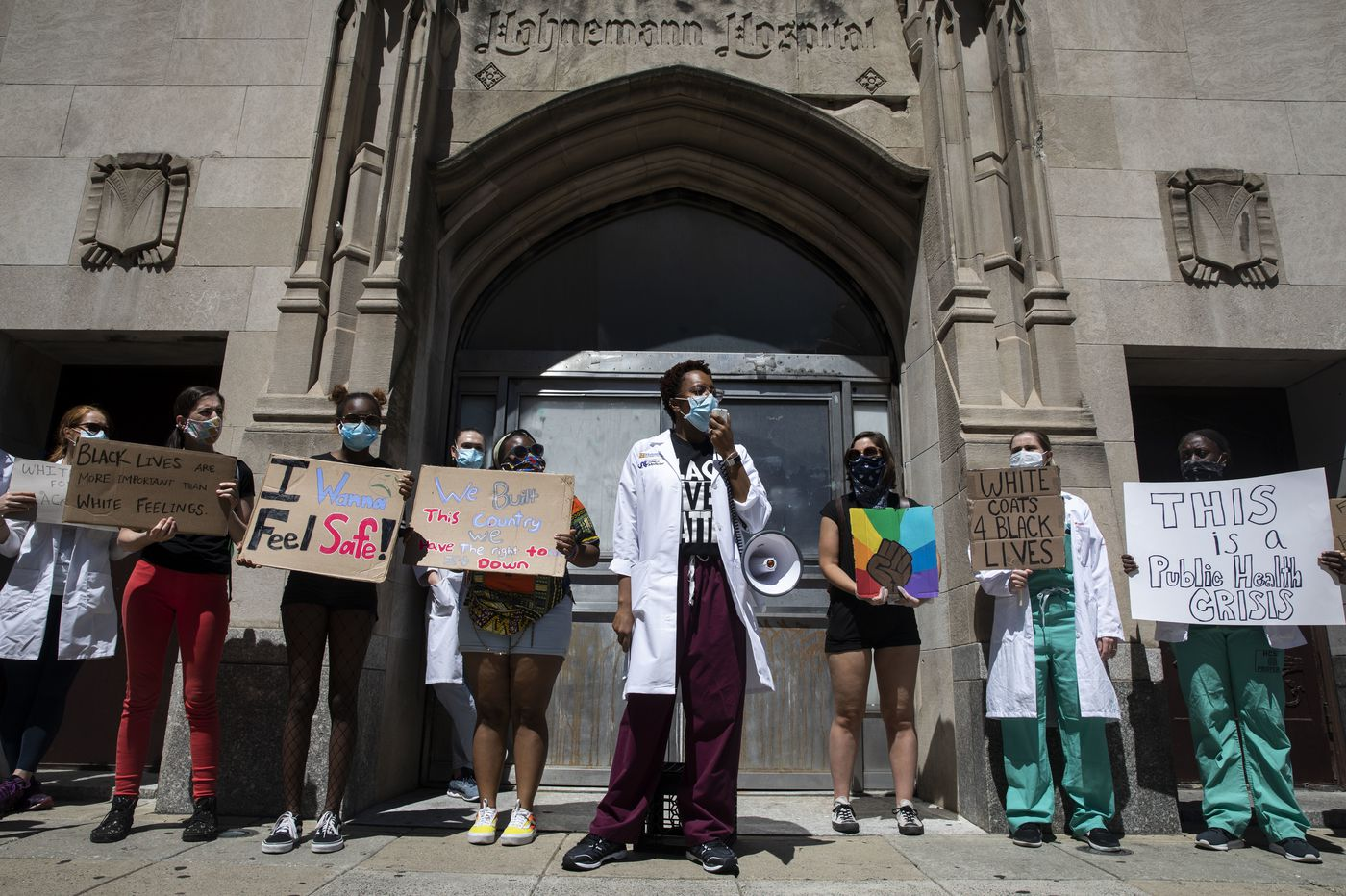 The loss of Hahnemann resonates a year later as COVID-19 and Black Lives Matter protests roil Philadelphia