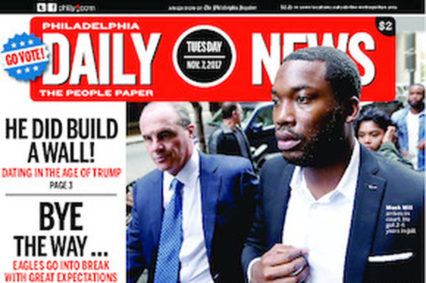 Dailynews Monthly Covers 11/07/17