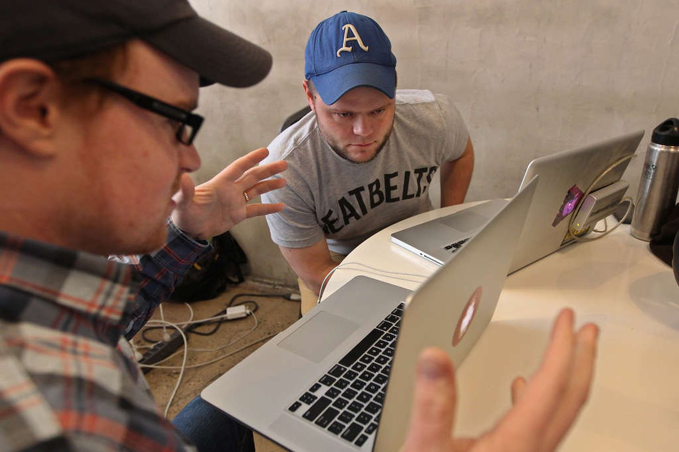 "On ""Nerd"" Street, Baseball Hack Day draws few"