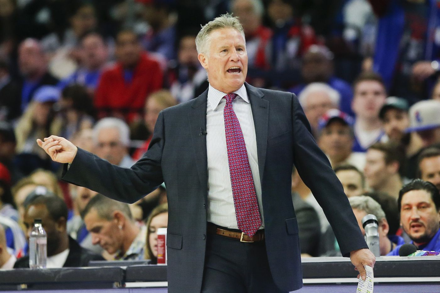 Brett Brown on Sixers' injuries: 'You just get numb to it'