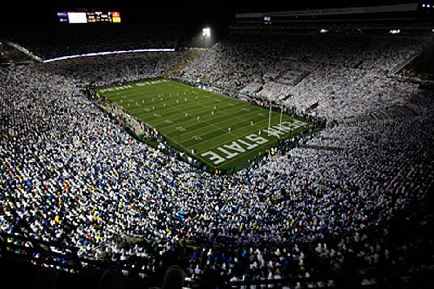 Penn State ready for the 'White Out' at Beaver Stadium, but is Michigan?