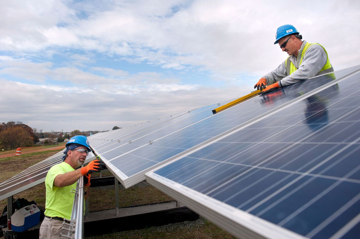 Pennsylvania had more solar projects installed this year, but still lags far behind nearby states