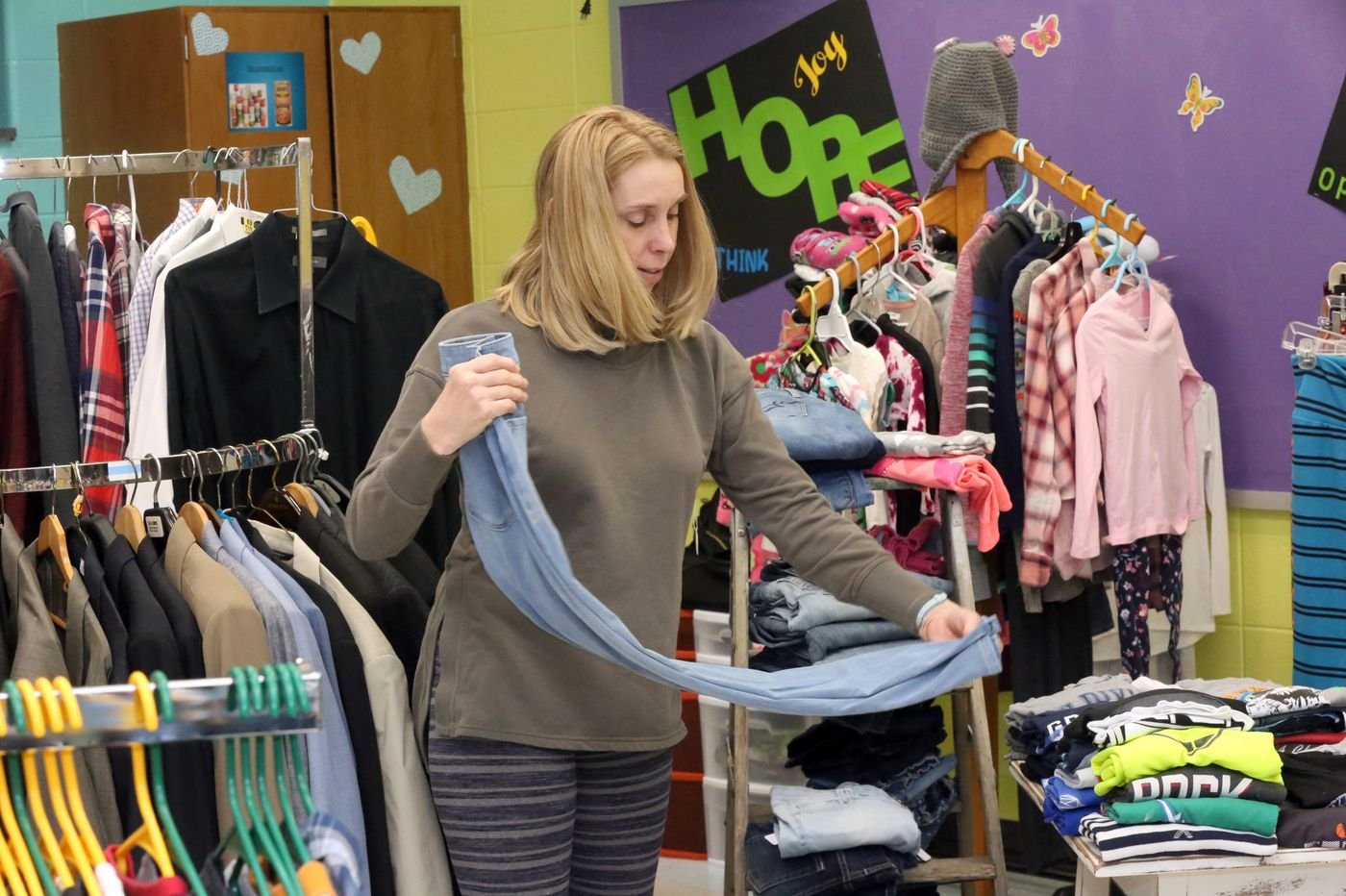 A New Jersey school district will wash and fold students' clothes to keep kids in class