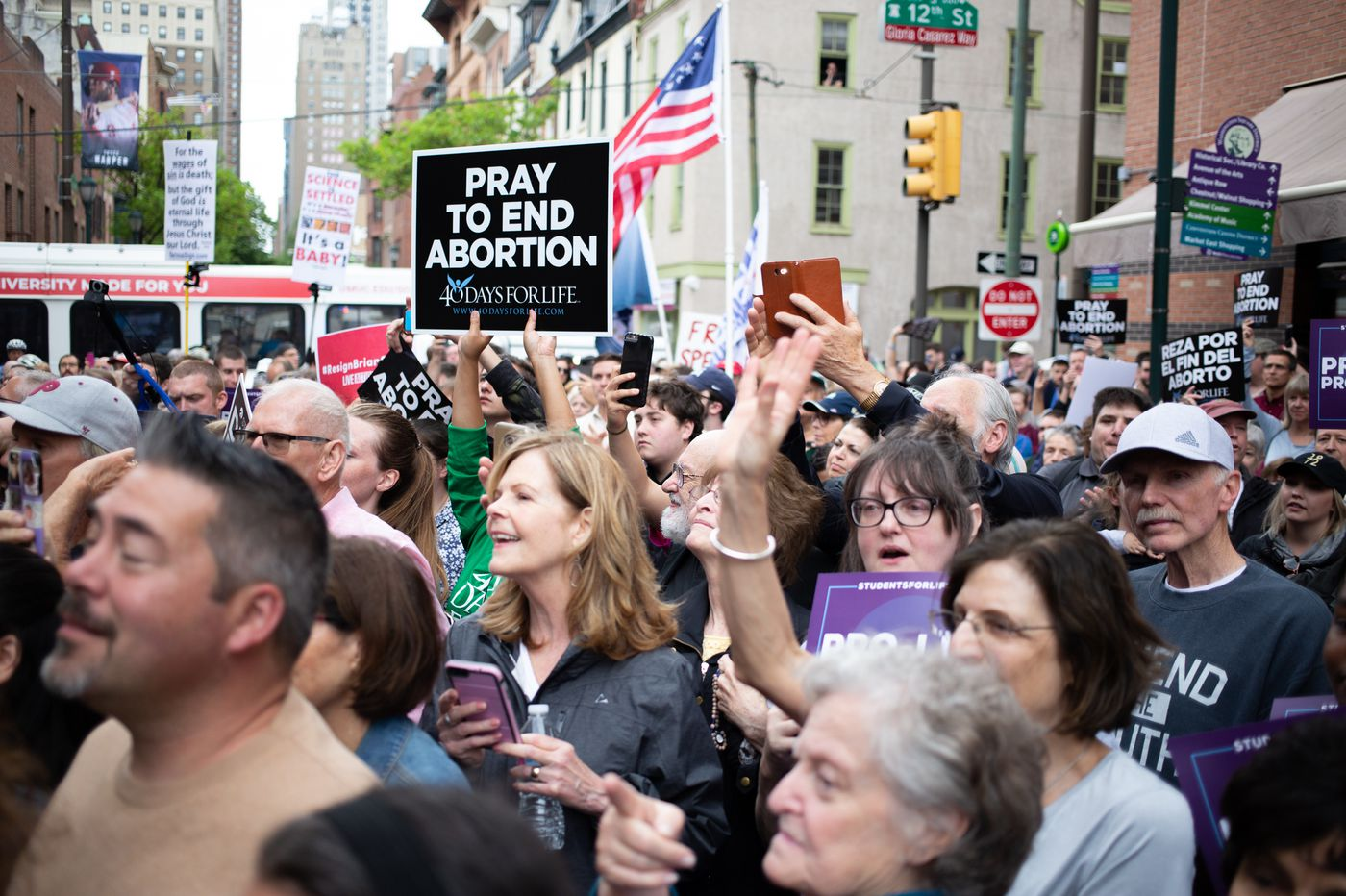 Rally draws hundreds protesting State Rep  Brian Sims at Philly