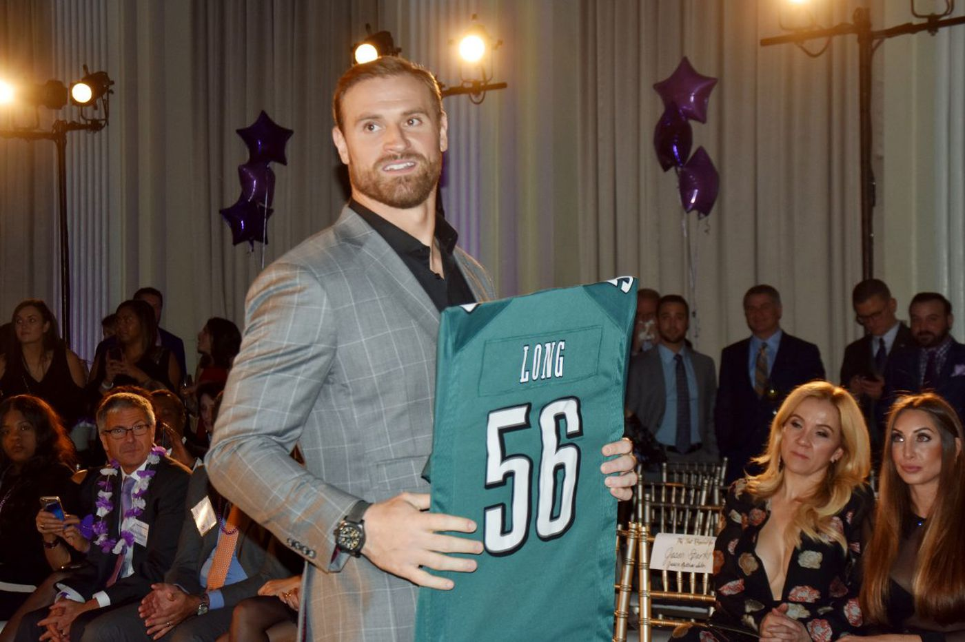 Chris Long the activist takes advantage of his NFL platform with Eagles