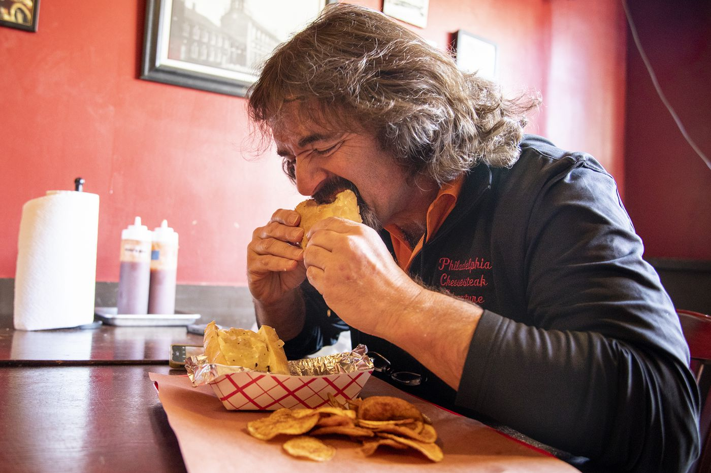 Who is Philly's cheesesteak authority? Maybe this guy, who ate 500 cheesesteaks in 20 months.