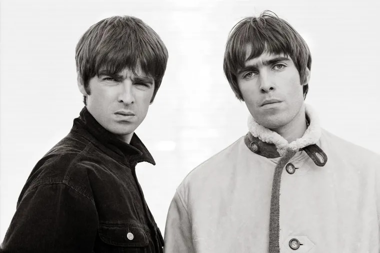 """Noel and Liam Gallagher from the movie """"Oasis: Supersonic."""".Credit:"""