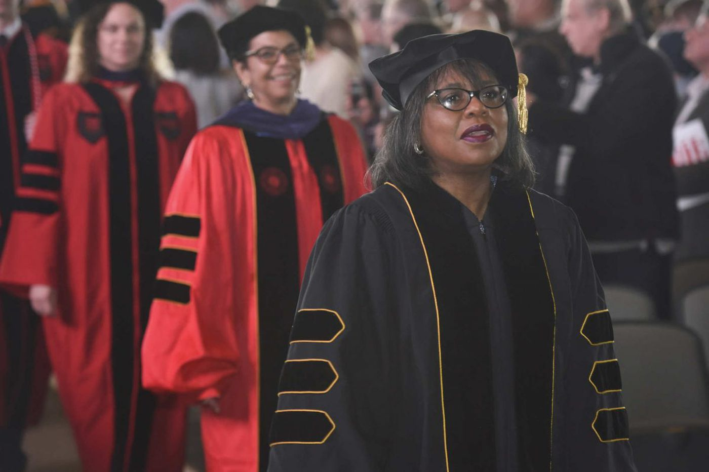 Anita Hill urges Rutgers-Camden law school grads to commit to social justice and work to `enshrine the ideals' put forth by MeToo