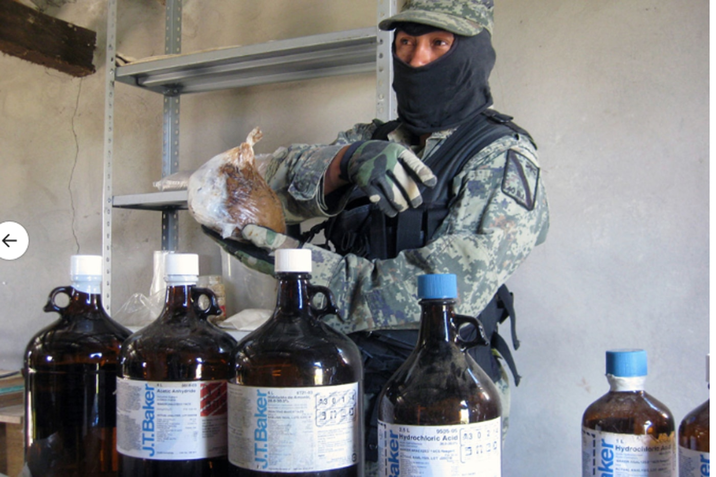 Radnor firm — with a product heroin makers rely on — stops key sales in Mexico