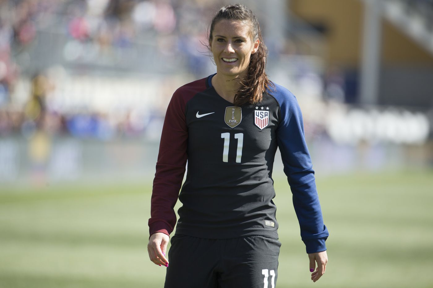 Ali Krieger returns to USWNT for first time in two years for