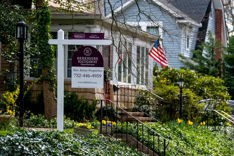 A home for sale in Haddonfield. With mortgage rates low, lots of buyers are looking for houses in the Philadelphia region. The problem is very few houses are on the market.