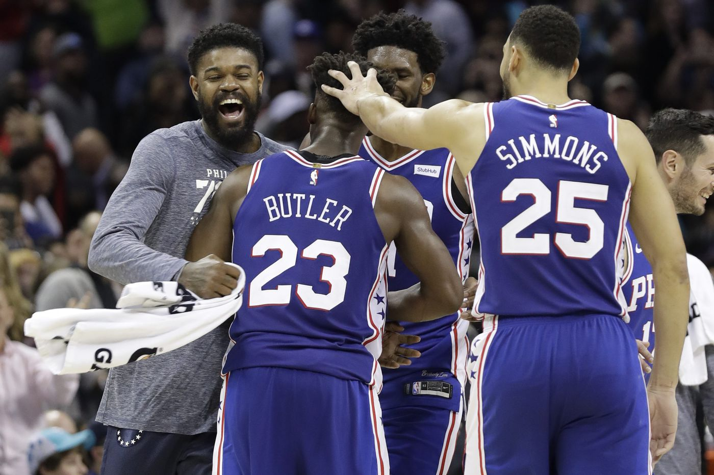 Jimmy Butler on adjusting to Sixers: 'Basketball is basketball to me'