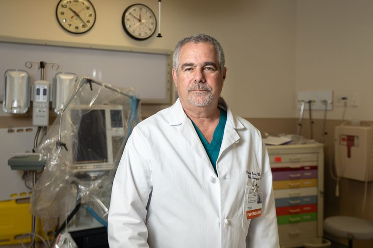 Dr. Richard Lucas is chair of emergency medicine at Suburban Community Hospital.