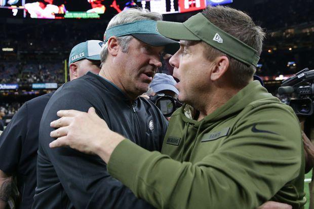Eagles-Saints is as much Sean Payton vs. Doug Pederson as it is Drew Brees vs. Nick Foles | David Murphy