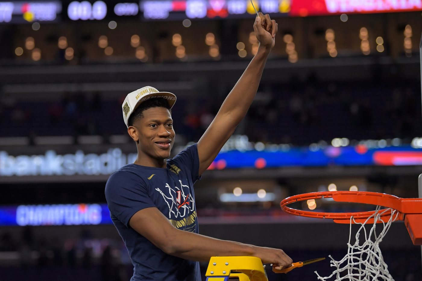 De'Andre Hunter realizes his national championship dream at Virginia, down to the last second