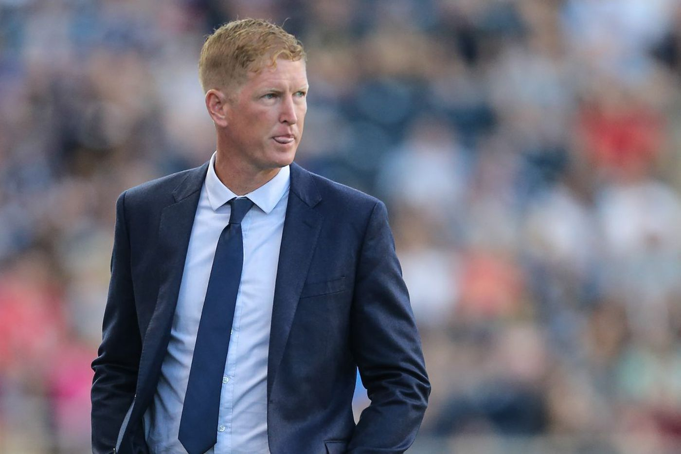 Union's Jim Curtin strongly backs anthem protests, criticizes Trump