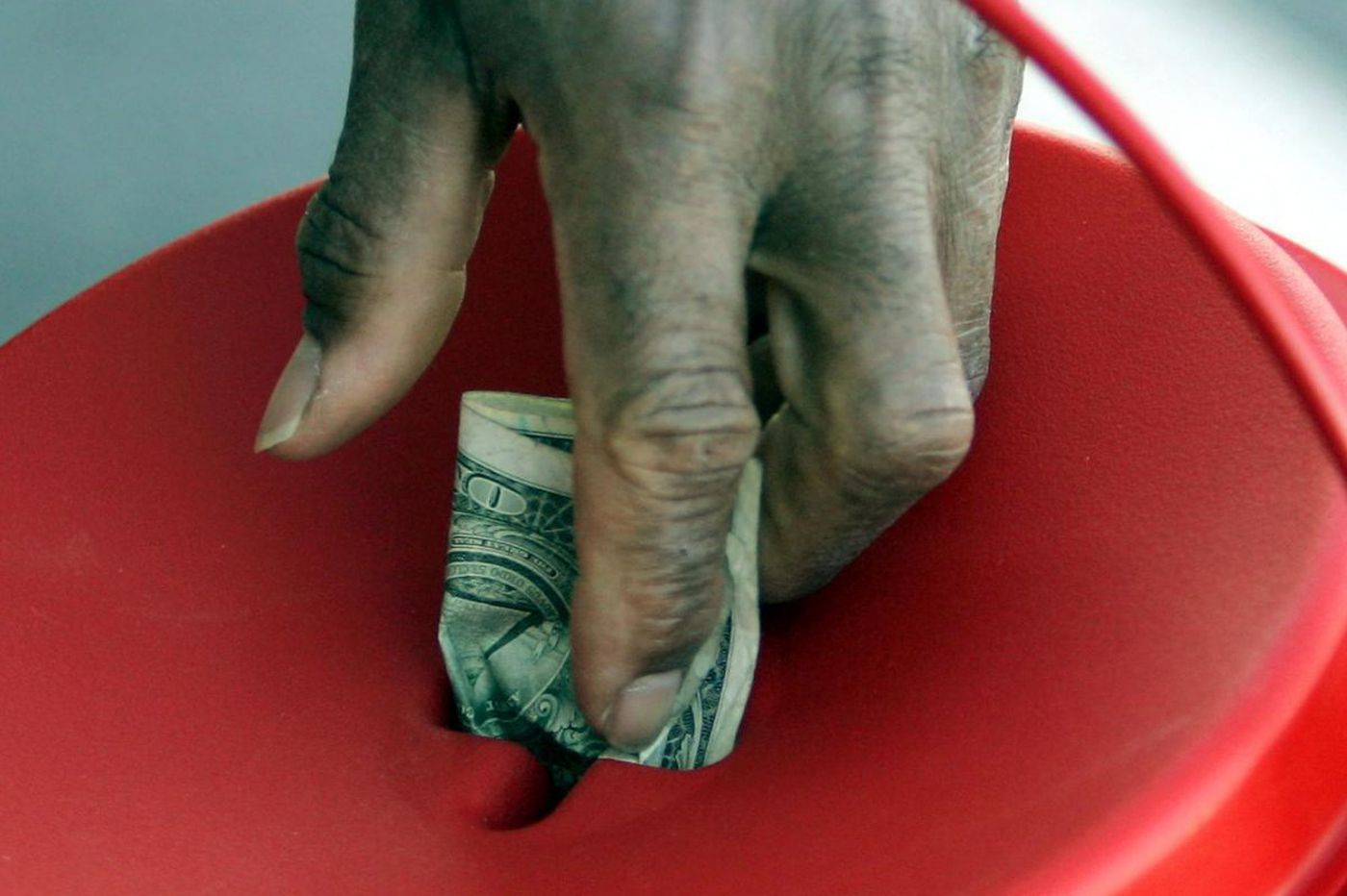 Given Americans' generosity, why make government the first line of defense against poverty?   Commentary