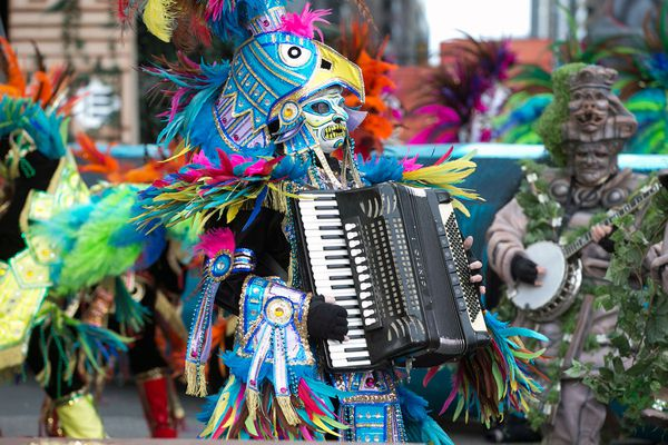 A novel year for the Mummers Parade