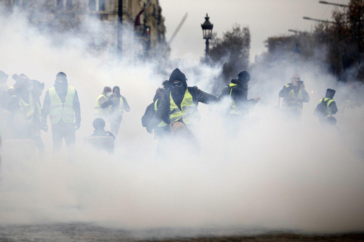 Worst riot in a decade engulfs Paris; Macron vows action