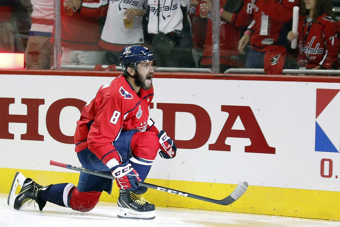 Capitals move within two games of Stanley Cup with 3-1 win over Golden Knights